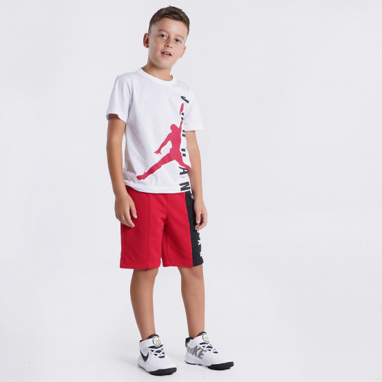 Jordan Big Vert Tee And Short Kid's Set